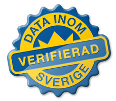 Verifierad - Data inom Sverige!